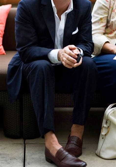 can i wear socks with loafers few guys are able to pull brown loafers with no socks