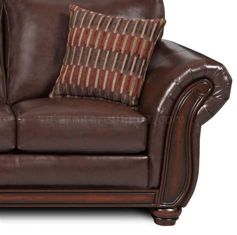 Soft Leather Sofa Set Vintage Soft Bonded Leather Sofa Loveseat Set W Flair Arms