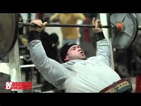 kai greene bench press training chest with branch warren biceps jay cutler