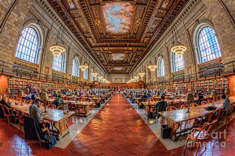 new york library reading room new york library reading room i photograph by clarence