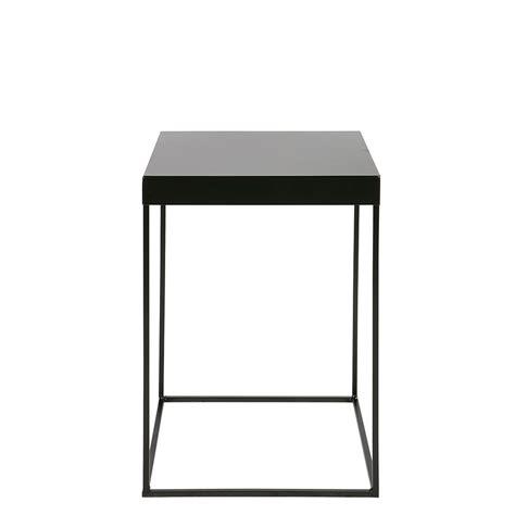 table d appoint design table d appoint design industriel m 233 tal noir meert by drawer