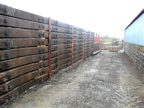 Concrete Railway Sleepers Uk by Silage Pit1 Bluebear Trading