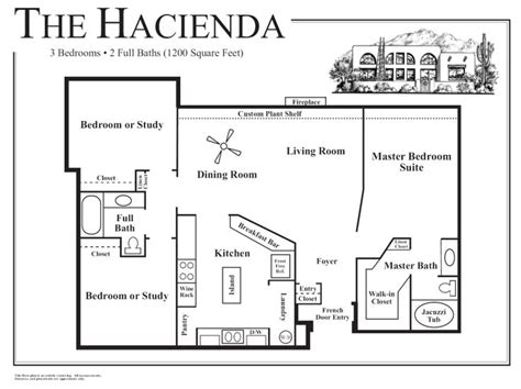 2 bedroom guest house plans hacienda style homes plans hacienda style house plans