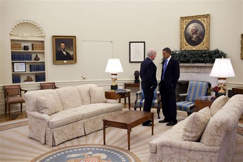 what does the oval office look like today free domain image president barack obama talks with vice president joe biden in the