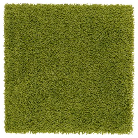 grass rug ikea hampen rug high pile bright green stains bright green