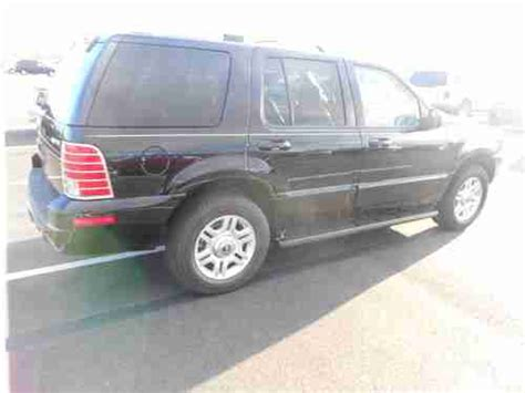 auto air conditioning repair 2003 mercury mountaineer seat position control purchase used 2003 mercury mountaineer premier awd 3rd row seat roof leather all power nice in