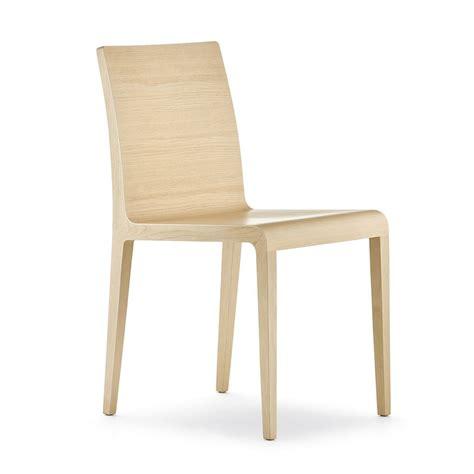 sedia arredo 420 sedia pedrali di design in legno di rovere
