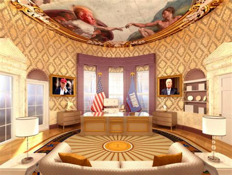 Trump Oval Office Renovation | trump s plans for an oval office makeover white house
