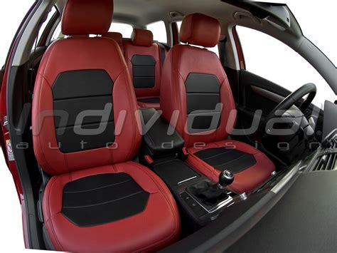 Auto Leder by Leather Car Seat Covers Leather Look Collection