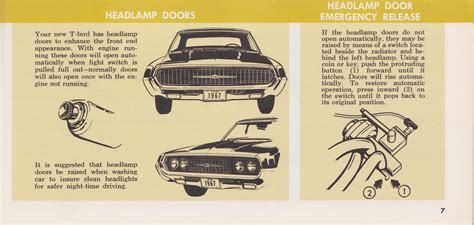 service manual old car owners manuals 1967 ford falcon user handbook old car owners manuals 1967 thunderbird owner s manual 07