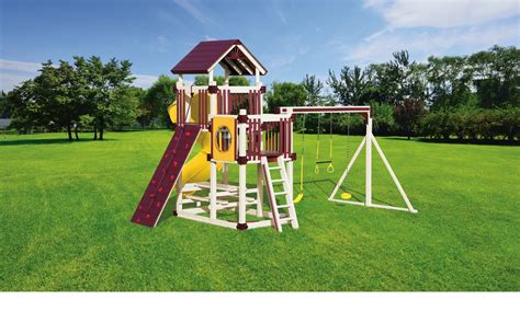free swing sets rl 2 turbo twister maintenance free swing set delivered