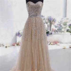 stock champagne prom dresses long evening party formal