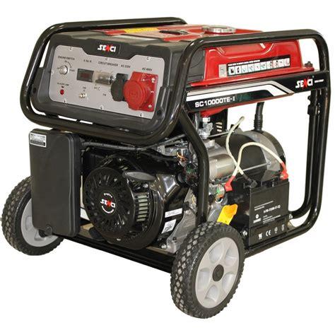Cumpar Motor Electric 220v by Generator De Curent Senci Sc 10000te 8500w 400v Avr