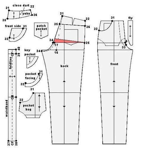 pattern drafting images 57 best images about trousers pattern cutting on pinterest