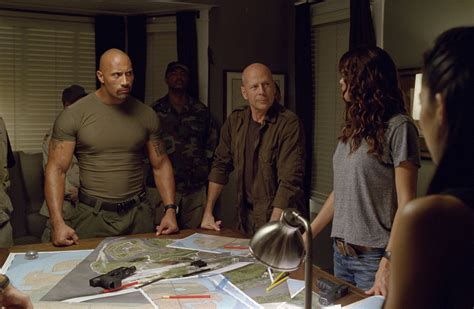 film action bruce willis dwayne johnson g i joe 2 retaliation pain and gain fast