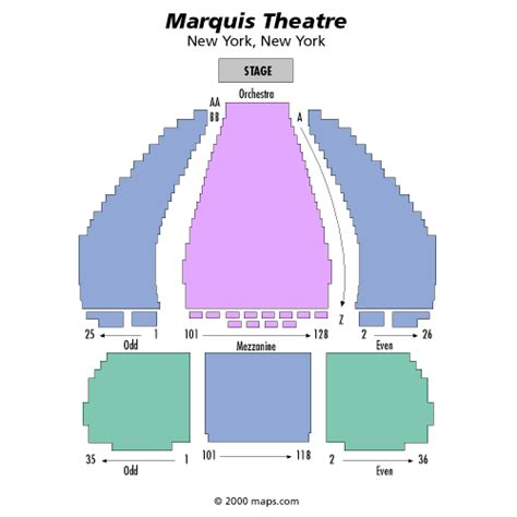 marquis theatre seating map donny osmond december 11 tickets new york