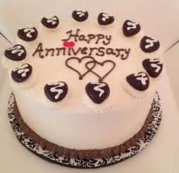 happy anniversary chocolate cake cakes pinterest