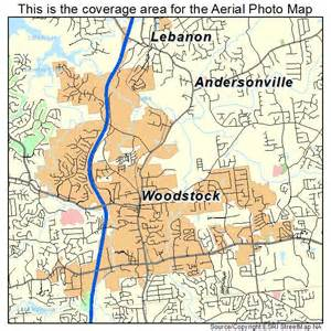 map of woodstock aerial photography map of woodstock ga