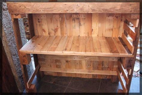 fabriquer comptoir bar fabriquer un comptoir de bar en bois image sur le design