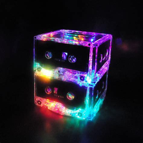 Unique Lights by Unique Lighting Multi Color Led Cassette Mixtape Light