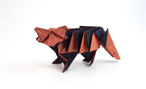 Advanced Origami Tiger - origami tigers and leopards page 1 of 2 gilad s