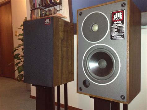 db plus 440 bookshelf speakers for sale canuck audio mart