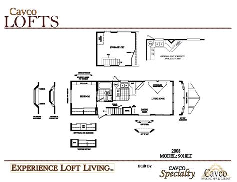 breckenridge park model floor plans cavco loft units park model homes from 21 000 the