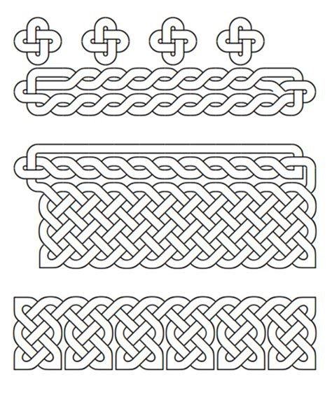 printable celtic knot designs literary spring designs