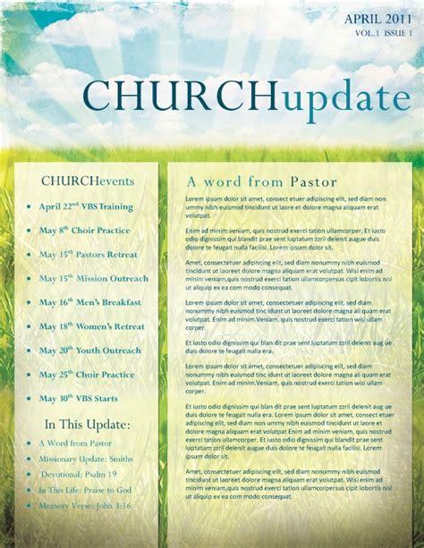 easter church newsletter template newsletter templates
