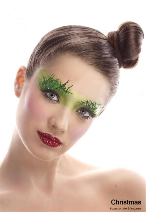 google christmas makeup 21 adorable makeup ideas 2013