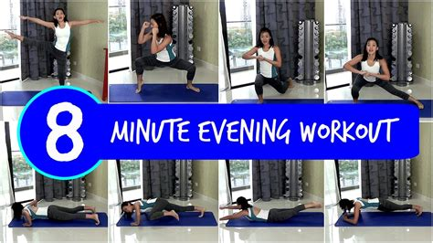 exercises before bed 8 minute evening workout before bed no equipment youtube