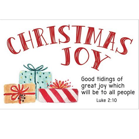 pkg 50 christian message cards pass it on variety pack pkg 25 christmas message cards christmas joy