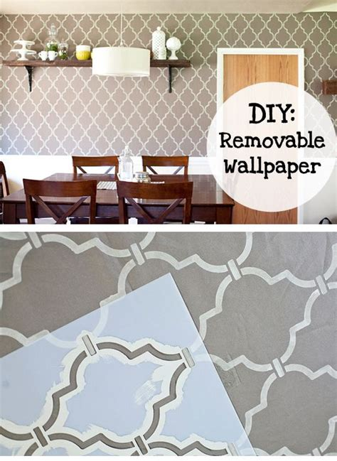 easy removable wallpaper diy removable quot wallpaper quot fabric starch applied to the