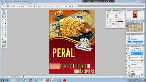 web design tutorial in malayalam how to design front page of brochure in photoshop youtube