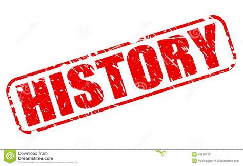origin of the word tekst de geschiedenis de rode zegel vector illustratie afbeelding 48878477