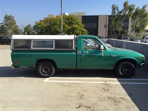 classic toyota truck curbside classic 1982 toyota truck when compact pickups