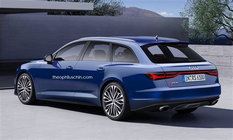 New Audi Rs6 2018 by 2018 Audi Rs6 Rs6 Avant Rendered With Prologue Styling
