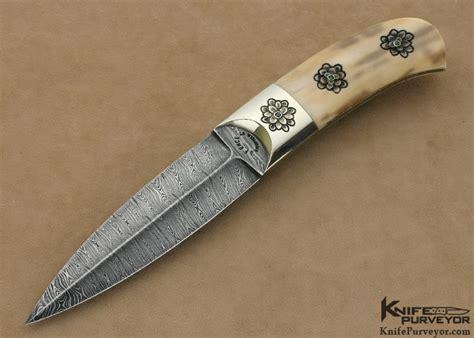 boot daggers jim ence damascus boot dagger knifepurveyor