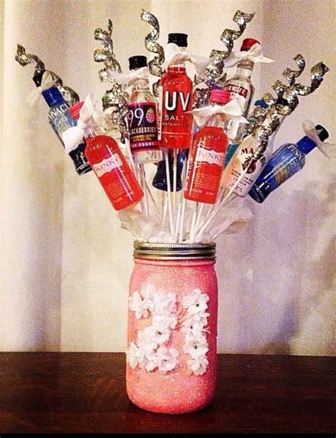 St  Ee  Birthday Ee   Present For Friend I Made Mason Jar With