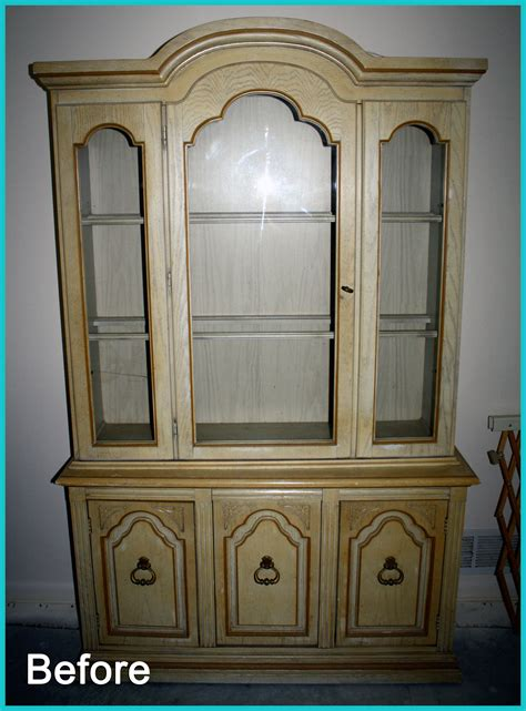 painted china cabinet before and after paint makes everything pretty china cabinet re do
