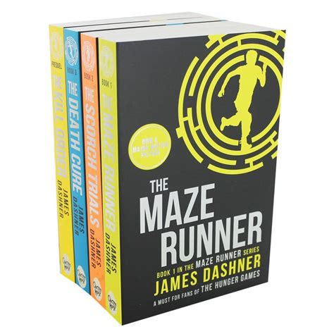 The Book the maze runner book series by dashner books for