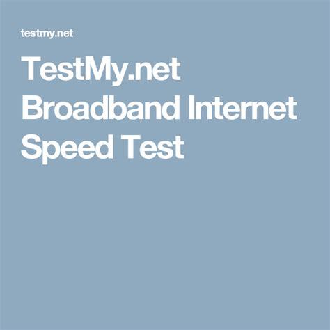 test my testmy net broadband speed test unplug me