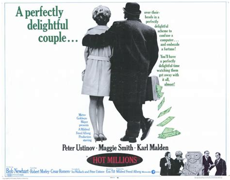 film hot millions the obscurity factor peter ustinov maggie smith in hot