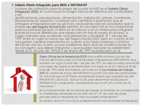 regimen ley del infonavit salario y sueldo ley de infonavit y ley