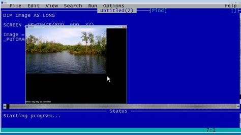 qbasic tutorial youtube qbasic tutorial 47 inserting a picture in qb64 youtube