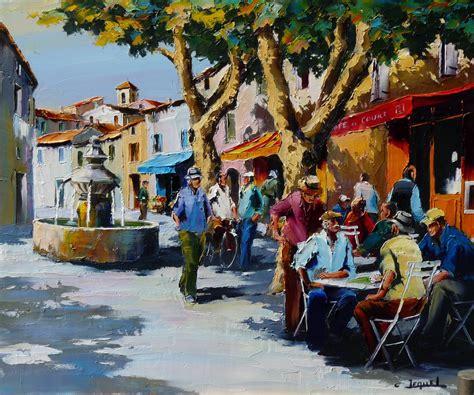 galerie tableaux artiste peintre des scenes rurales des