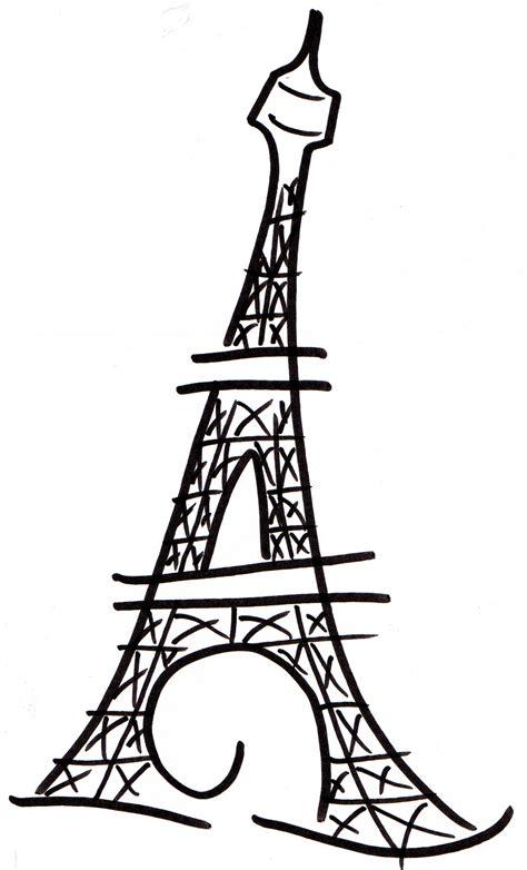 eiffel tower clipart eiffel tower drawing clipart best