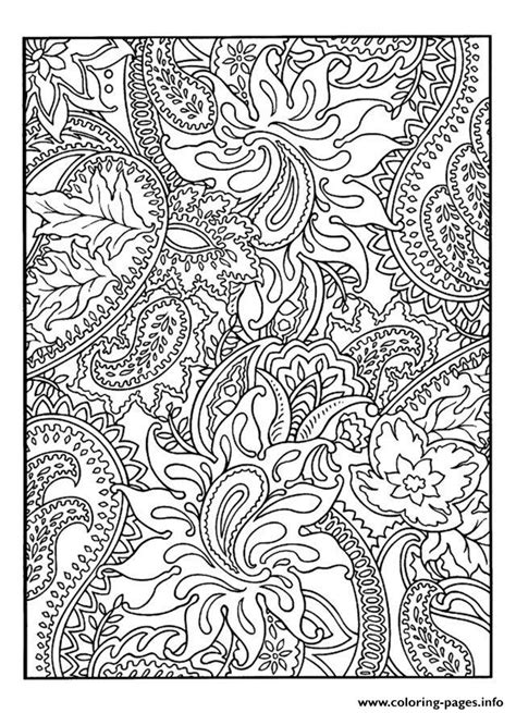 Adult Pretty Patterns Plant Coloring Pages Printable Coloring Pages Of Pretty Free