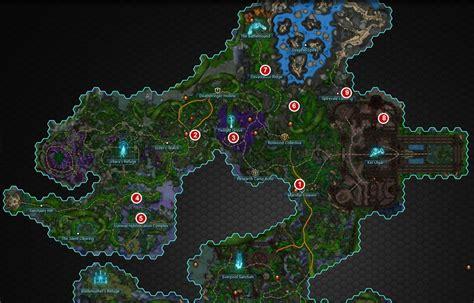 wildstar map wildstar wilderrun exile zone lore guide dulfy