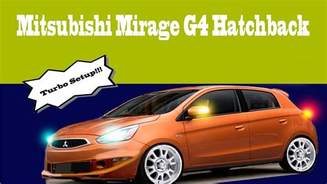 mitsubishi mirage turbo 2017 modified turbo mitsubishi mirage hatchback youtube